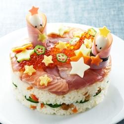 七夕ケーキすし