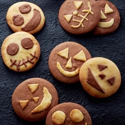 ハロウィンおばけクッキー
