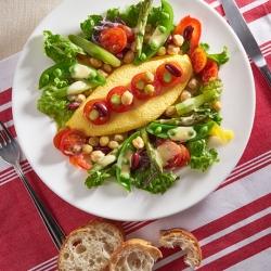 春野菜のイースターエッグオムサラダ