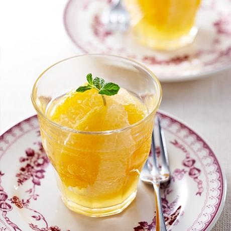 オレンジとグレープフルーツのマリネ ヴェリーヌ風