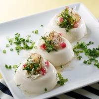 豆腐と香味野菜のヘルシーサラダ