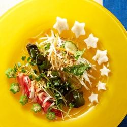 七夕 笹かまサラダ