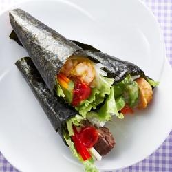 南米育ちの手巻寿司 テマケリア