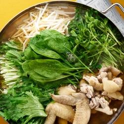 野菜たっぷりの草鍋