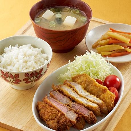 W(ダブル)カツ定食
