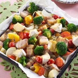 春野菜のぎゅうぎゅう焼き