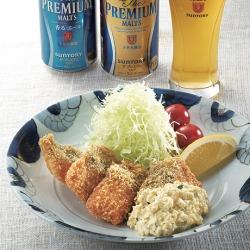 秋鮭のフライ タルタルソース添え