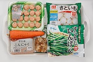 野菜たっぷり鶏だんご煮込み