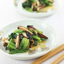小松菜と椎茸の和え物