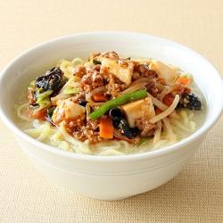 野菜たっぷり麻婆タンメン