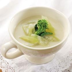 山菜のスープ