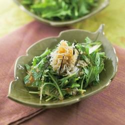 水菜のおろしサラダ