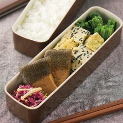 鮭の焼き漬け弁当