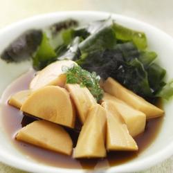 若竹煮(含め煮)
