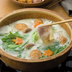 豆乳豚シャブ鍋