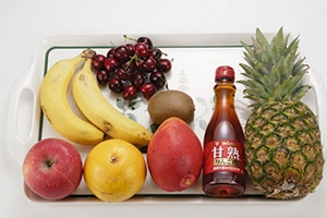 甘熟りんご酢でつくるフルーツマリネ