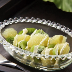 グレープフルーツとキウイフルーツのサラダ