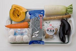 塩のり天ぷら盛り合わせ