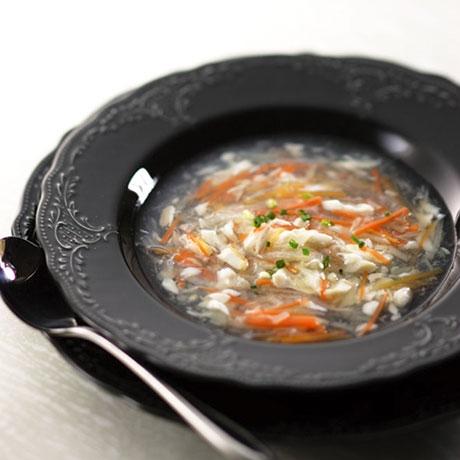 かわはぎのスープ