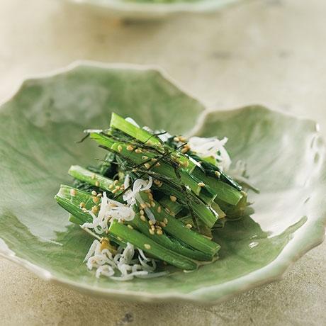 小松菜の和風サラダ