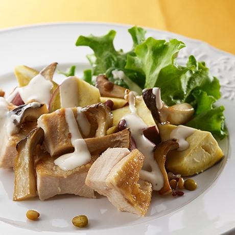 いもジェンヌとグリルチキンのechigo salad