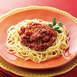 深い味わいミートソーススパゲッティ