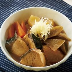 ぶりと大根の煮物
