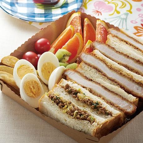 運動会応援! サンドイッチお弁当