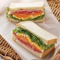 春色ボリューム野菜サンド