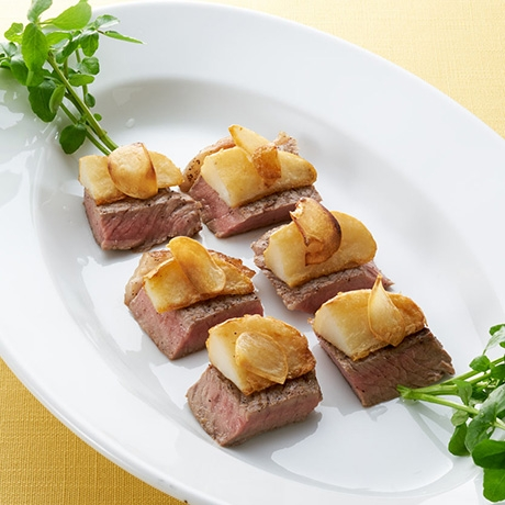 ガーリックステーキ