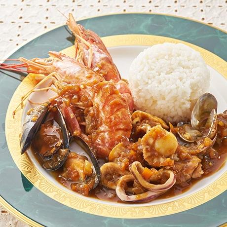 ゴロッと海鮮カレー
