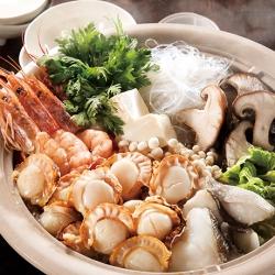 ほたてたっぷり海鮮鍋