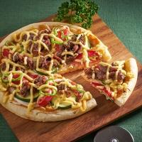 HONEYプルコギと夏野菜のピザ