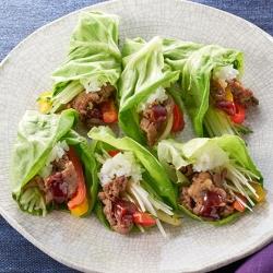 HONEY プルコギ DE 巻き巻きサラダ