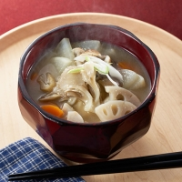 秋! 新潟野菜のお味噌汁
