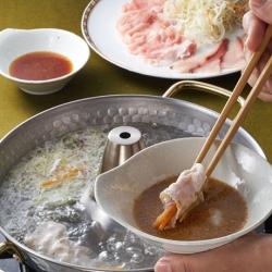 ぶり・豚肉のシャキシャキ鍋