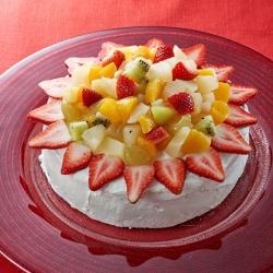 フルーツたっぷりクリスマスケーキ