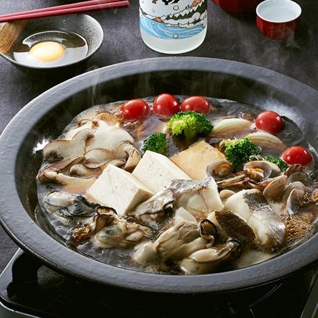 かきとたらのUOSUKI鍋