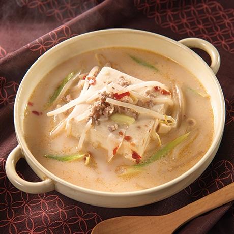 豆腐まるごと生姜豆乳スープ