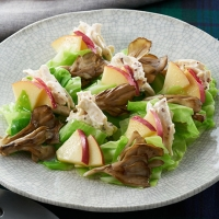 舞茸とマヨチキンのECHIGO salad