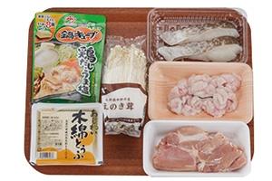 鶏とたらのうま塩鍋