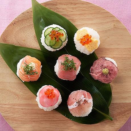 ひなまつり にぎわい手まり寿司