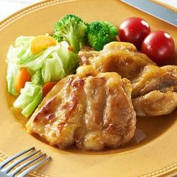 だしまろ酢で鶏肉の照り焼き