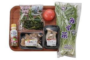 舞茸とわかめのECHIGO salad