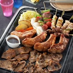 お肉で豪快!! BBQパーティー