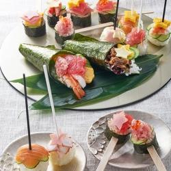 七夕手作りパーティー寿司