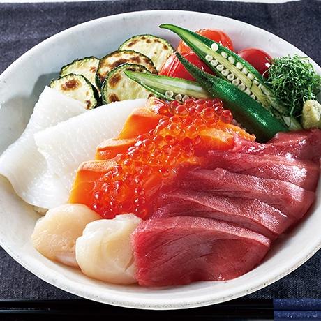 ベジ海鮮丼