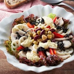 チキンとれんこんのECHIGO salad