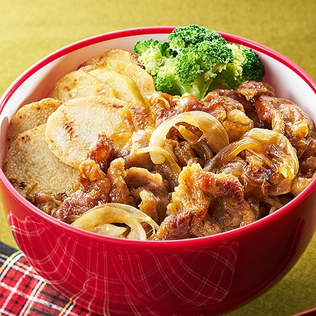北海道たっぷりベジ豚丼