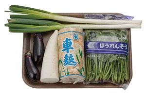秋野菜のすき焼き 大根おろし添え